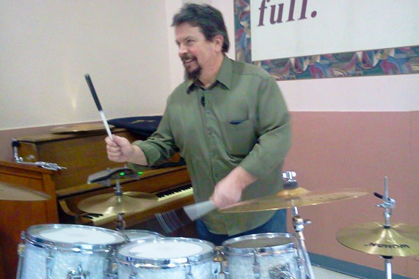 cross christian route 66 - drummer